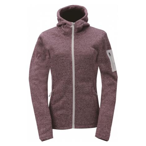 2117 of Sweden ASPEBODA dámská fleecová bunda s kapucí Barva: magenta