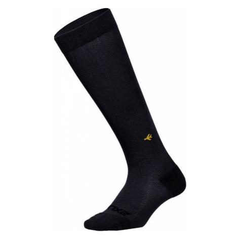 2XU kompresní ponožky Flight Socks Ultralight black