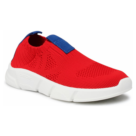 Sneakersy GEOX - J Aril B. A J02DMA 0006K C7213 Red/Royal