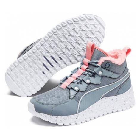Puma PACER NEXT SB WTR šedá - Dámská zimní obuv