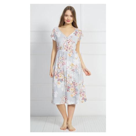 Dámské šaty Silvie, XL, šedá Vienetta Secret