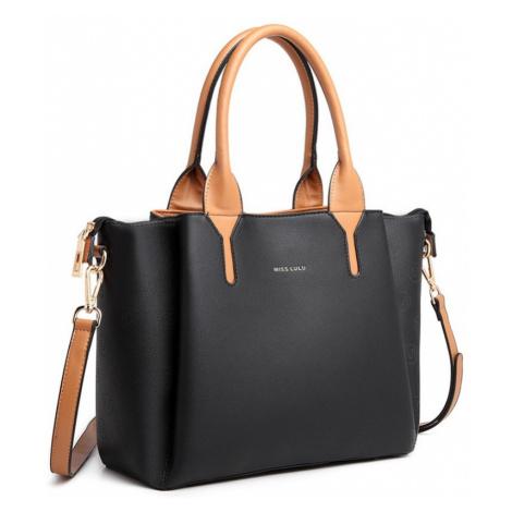 Černá dámská elegantní kabelka Yolande Lulu Bags
