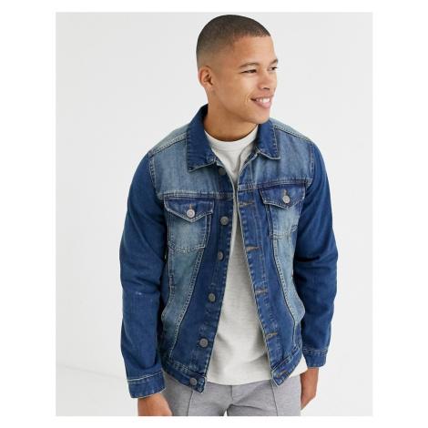Brave Soul denim jacket-Blue