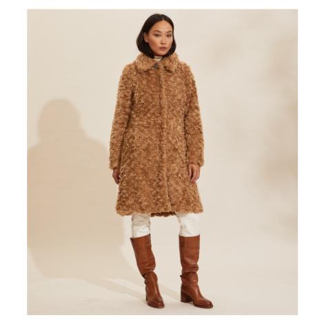 Kabát Odd Molly Amandine Long Jacket - Hnědá