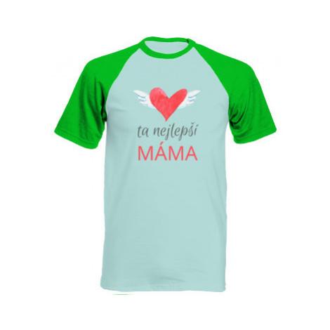 Pánské tričko Baseball Ta nejlepší máma