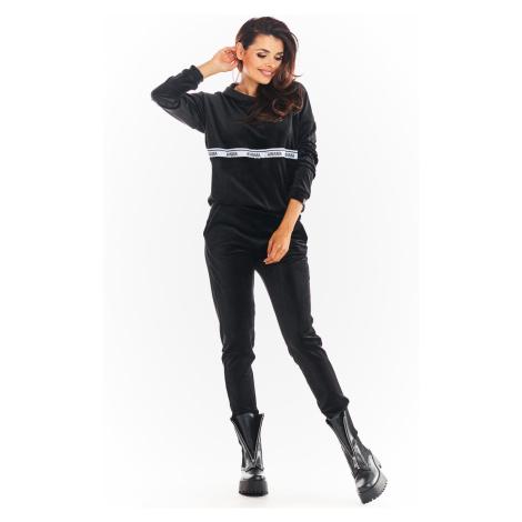 Velurový komplet souprava tepláková dámský set kalhoty + mikina