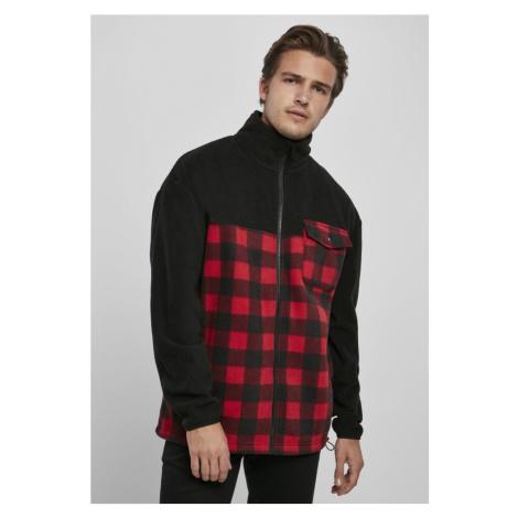 Patterned Polar Fleece Track Jacket Urban Classics