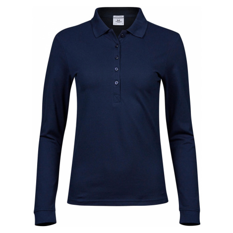 Damské polo tričko s dlouhým rukávem Luxury Stretch Tee Jays