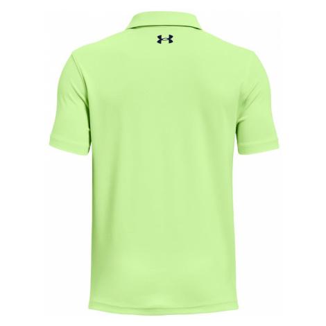 Chlapecké Tričko Under Armour Performance Polo zelené,