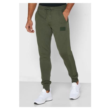 Calvin Klein pánské khaki zelené tepláky