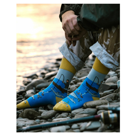 Unisex ponožky Spox Sox Fisherman Barevná