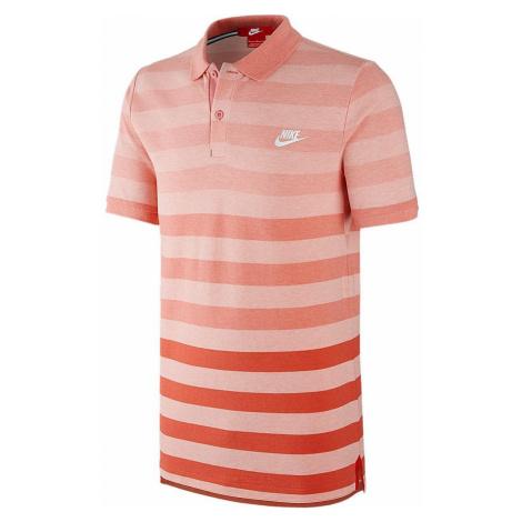 Polokošile Nike Court Grand Slam Slim Solstice Červená / Oranžová
