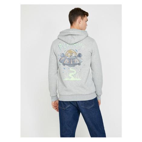 Koton Rick And Morty Licensed Printed Sweatshirt
