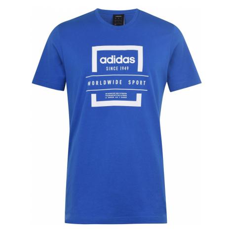 Pánské tričko Adidas Label Linear QT