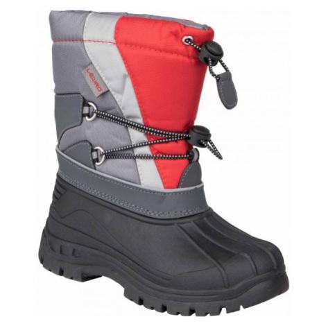 Lewro CANE IV šedá - Dětská zimní obuv