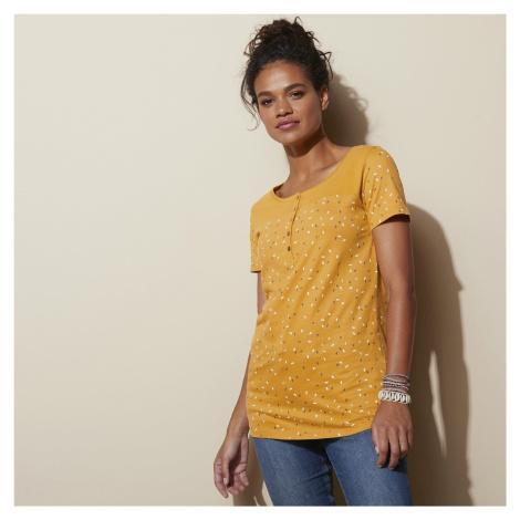 Blancheporte Tuniské tričko s potiskem medová