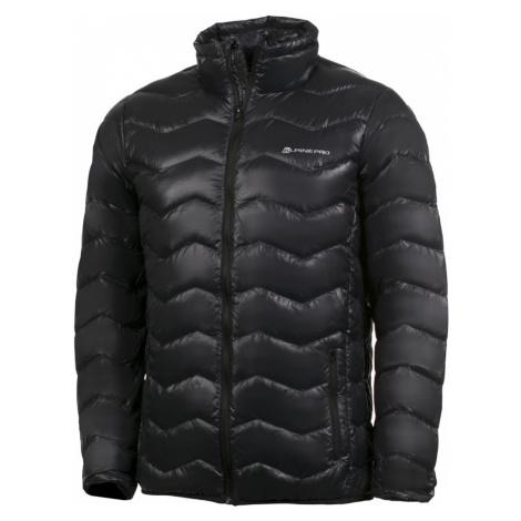 ALPINE PRO DOBEL Pánská bunda MJCH183990 černá