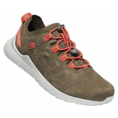 KEEN HIGHLAND MEN Pánská volnočasová obuv - kůže 10011493KEN01 caper/silver birch
