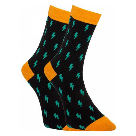 Veselé ponožky Dots Socks blesk (DTS-SX-406-C) S