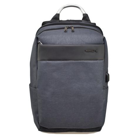 Semiline Unisex's Laptop Backpack with USB port P8008