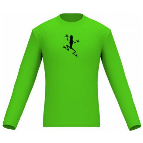 Pánské tričko dlouhý rukáv Žába