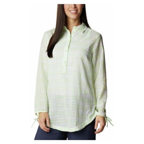 Košile Columbia Camp Henry™ II Tunic W - světle zelená