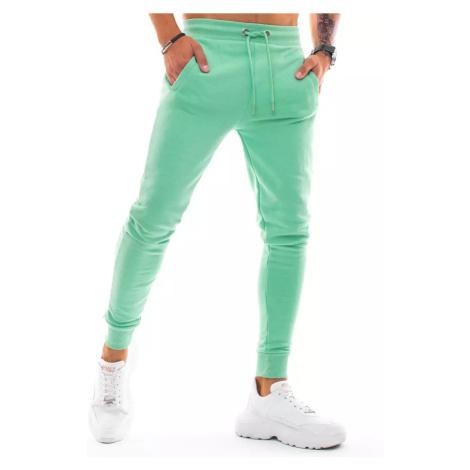 Light green men's sweatpants Dstreet UX3341