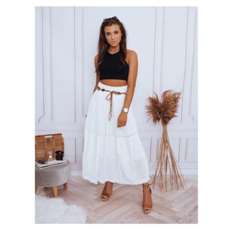 VAL maxi skirt white Dstreet CY0318