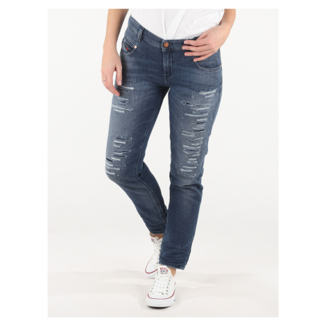 Belthy-Ne Jeans Diesel Modrá