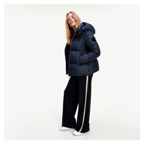 Tommy Hilfiger dámská tmavě modrá zimní bunda