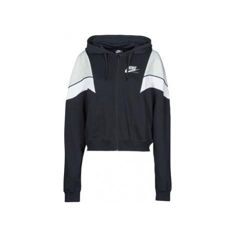 Nike NSHERITAGE FZ FLC Černá