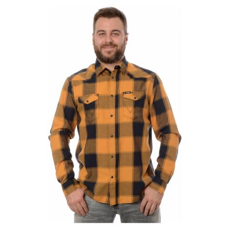 Košile Wrangler Western pánská žlutá
