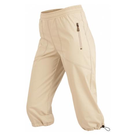 LITEX Kalhoty dámské v 3/4 délce do pasu. 99579401 béžová