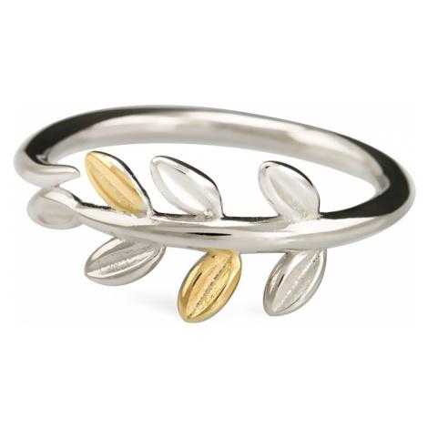 Linda's Jewelry Stříbrný prsten Vavřín IPR009 Velikost: 54