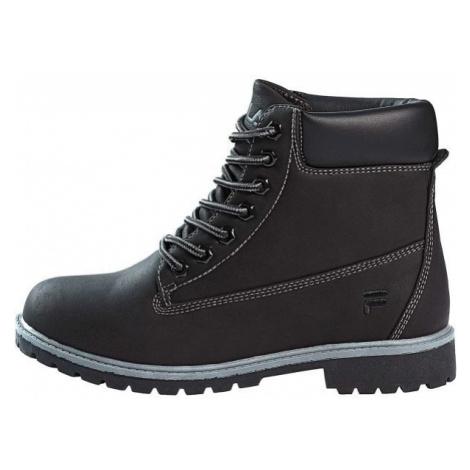 Fila MAVERICK MID černá - Pánská kotníková obuv