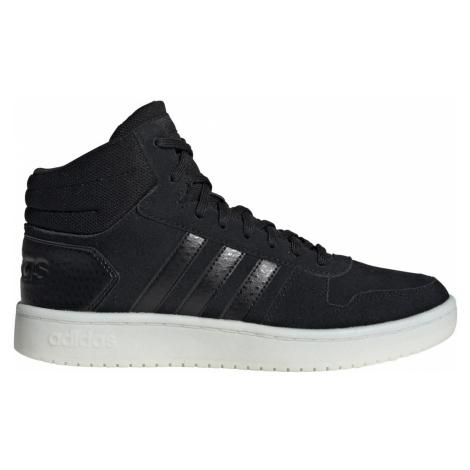 Dámská obuv adidas HOOPS 2.0. MID Černá / Bílá