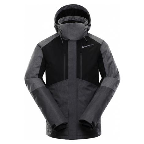 ALPINE PRO SARDAR Pánská lyžařská bunda MJCK220990 černá