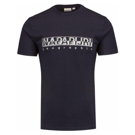 Tričko Napapijri SALLAR SS tmavomodrá