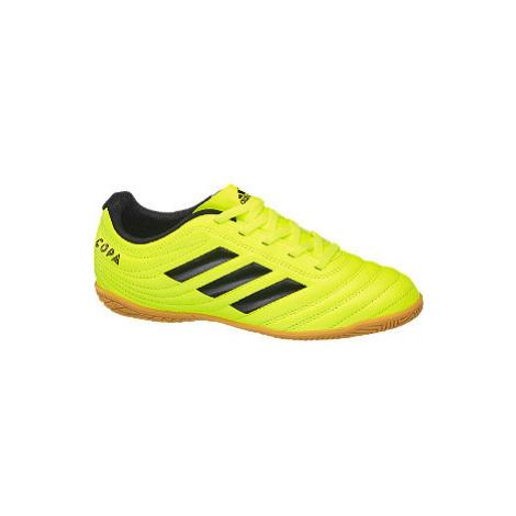 Žluté sálovky Adidas Copa 19.4 In