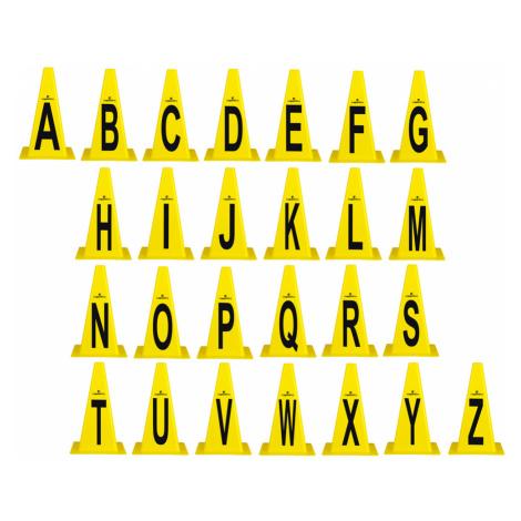 Plastové Kužely Insportline Alphabet 23 Cm