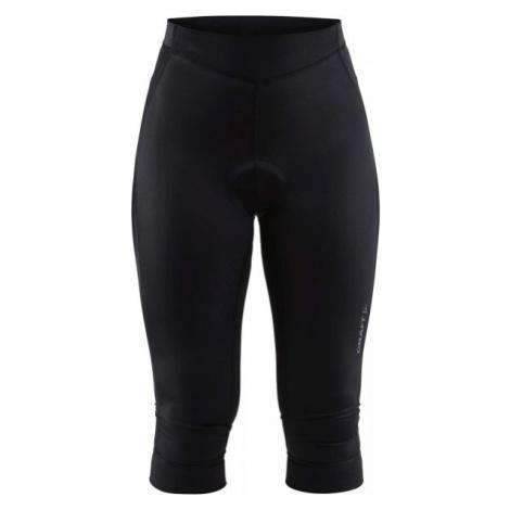 Craft RISE KNICKERS W černá - Dámské 3/4 cyklistické kalhoty