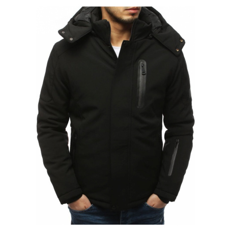 Pánská softshellová bunda - černá tx3124 BASIC