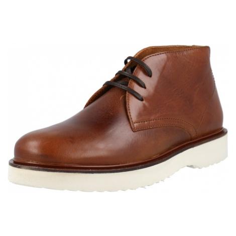 Shoe The Bear Kotníkové boty 'COSMOS' koňaková