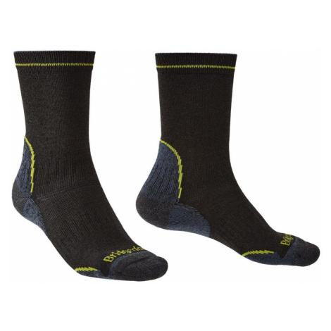 Bridgedale Hike Lightweight Coolmax Performance Boot black/lime (48+EU)