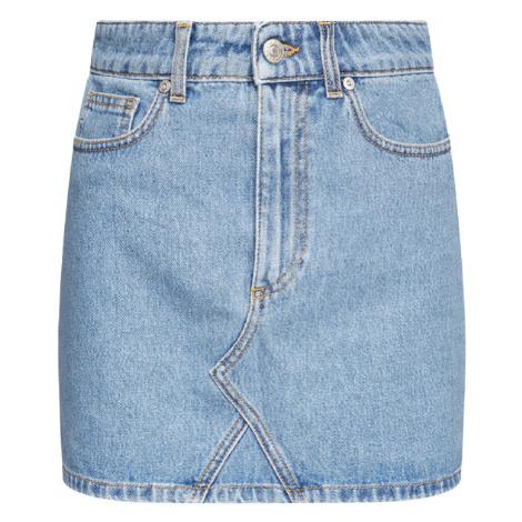 Džínová mini sukně - CHIARA FERRAGNI