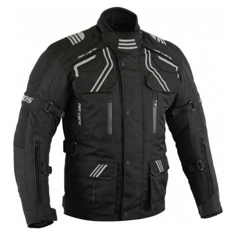 Pánská touringová moto bunda BOS Temper Barva černá