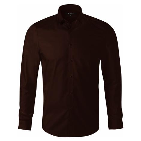 Malfini premium Dynamic Pánská košile 26227 kávová
