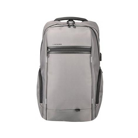"Kingsons Business Travel Laptop Backpack 15.6"" šedý"