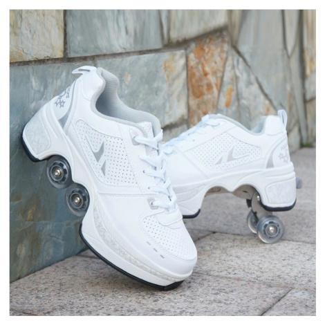 Stylové tenisky unisex barevné boty na kolečkách nejen pro děti