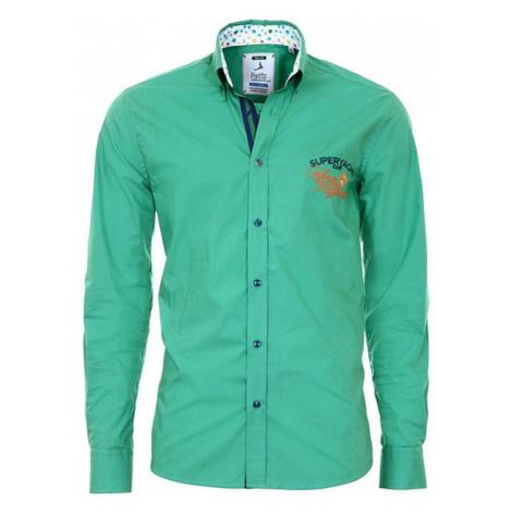 PONTTO košile pánská 8005-03 dlouhý rukáv